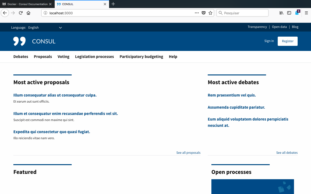 Installing Consul on Mac - Instalación / Installation and Setup